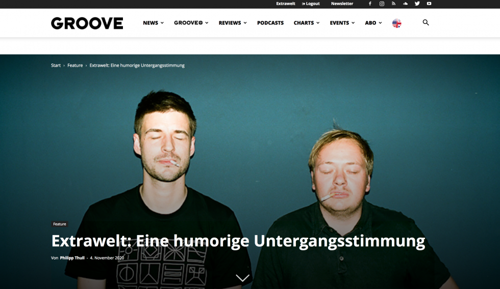 Groove Magazin Feature